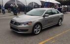 Volkswagen Passat HyMotion Hydrogen Fuel-Cell Vehicle Prototype: Brief Drive