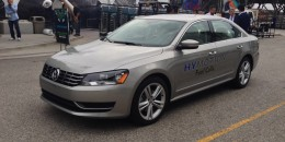 Volkswagen Passat HyMotion Hydrogen Fuel-Cell Vehicle Prototype: Brief Drive