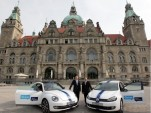 "Volkswagen starts car sharing project ""Quicar – Share a Volkswagen"" in Hanover"