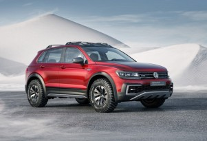 Volkswagen Tiguan Plug-In Hybrid Concept Shown In Detroit