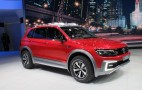 VW Tiguan Plug-in Hybrid Off-Road Concept: Live Photos And Video