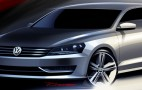2012 Volkswagen NMS: More Sketches, Passat Still Not Coming