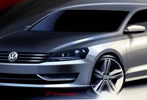 2012 Volkswagen NMS: More Sketches, Passat Still Not Coming