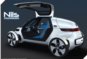 2011 Volkswagen Nils single-seat electric car concept