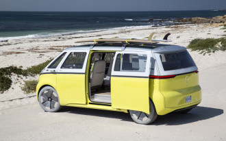 VW revives its iconic Microbus as a self-driving electric van