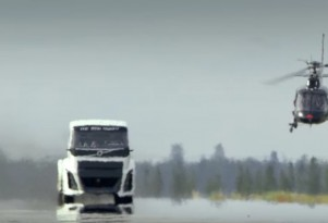 Volvo builds the Iron Knight: the world's fastest semi truck