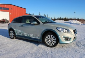 Volvo C30 Electric Car: How Quickly Does It Warm Up In Cold Weather? (Video)