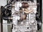 Volvo Drive-E engine with electrically-driven turbocharger