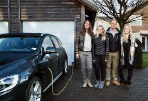 Hain family participating in Volvo Drive Me self-driving car project
