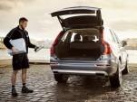 Volvo in-car delivery trial in Gothenburg, Sweden