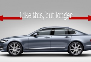 Volvo S90L is like this... but longer