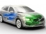 Volvo V60 plug-in hybrid prototype
