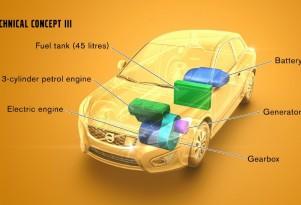 Volvos A La Volt: Swedish Carmaker Tests Range Extenders In C30, V60