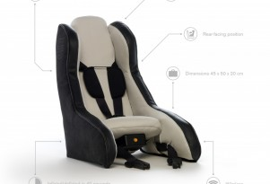 Volvo's New Child Car Seat Concept: Lightweight, Inflatable, Military-Grade