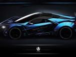 W Motors Lykan Supersport HSF (Hybrid Synthetic Fuel) race car