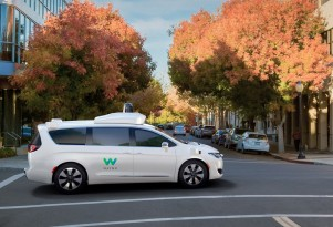 Waymo self-driving prototype