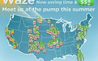 Waze Adds Real-Time Gas Prices For Summer Travelers: Video