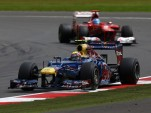 Webber leads Alonso to the British GP finish - Red Bull Racing photo