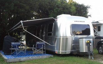 Airstream Weekend: Luxury Living In Classic Aluminum Trailer