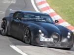 Wiesmann GT testing new twin-turbo BMW V-8