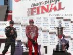 Will Power and Scott Dixon, IndyCar, Twin Ring Motegi 2011
