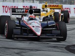 Will Power leads Ryan Hunter-Reay at Long Beach in April, Photo: Anne Proffit