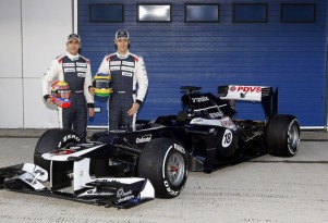 Williams FW34 2012 Formula 1 race car
