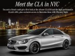 Win the chance to attend the unveiling of the 2014 Mercedes-Benz CLA45 AMG in New York