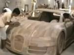 Wooden Replica Bugatti Veyron