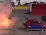 World's fastest Smart ForTwo boasts 1,500 hp jet engine