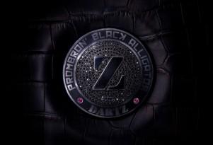 World's most expensive steering wheel from Dartz Prombron Black Alligator