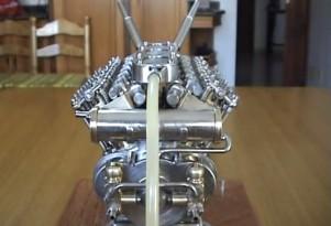World's smallest V-12 engine