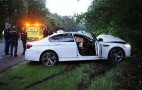 2013 BMW M5 Crashes In The Netherlands: Video