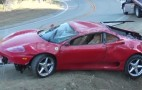 Ferrari 360 Modena Crashes Down Steep Malibu Embankment: Video