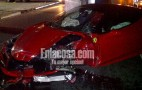 Ferrari 458 Italia Crashes Outside Dominican Republic Nightclub