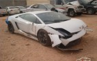 Lamborghini Gallardo LP 570-4 Superleggera Crashes In Saudi Arabia