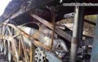 Rolls-Royce Wraith Destroyed When Truck Carrying It Catches Fire