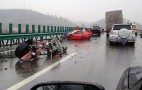 Ferrari 458 Spider And California Involved In Crash In China