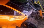 Lamborghini Murcielago LP 670-4 SV Crashes In Indonesia