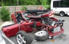 Wrecked 2010 Mustang GT on Test Drive, Five Star Safety Rating Tested