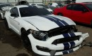 Wrecked 2016 Ford Mustang Shelby GT350 - Image via Copart