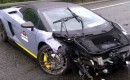 Wrecked Lamborghini Gallardo Spyder Performante LP570-4