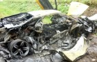 Lamborghini Murcielago LP640 Burns To The Ground After Crashing Into Chevy Aveo