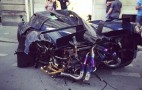 One-off Pagani Huayra Pearl wrecked within months of delivery