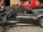 Wrecked Pagani Zonda F