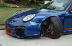 Man Crashes Porsche 911 GT3 RS, Attempts To Drive Home