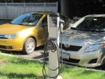 ChargePoint charging station at Zen Dog Cafe, Rhinebeck, NY