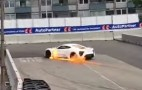 Zenvo ST1 supercar catches fire… again