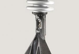 ZF carbon-fiber MacPherson strut