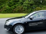 ZF self-driving car prototype